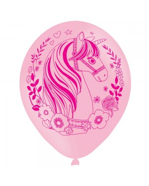 6 x Unicorn Balloons at Fancy Dress and Party