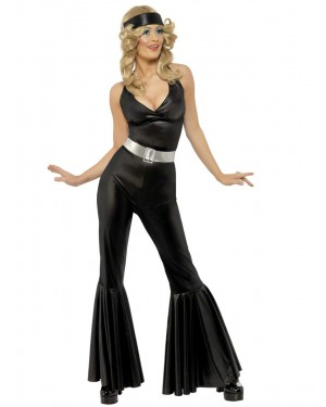 70s Disco Jumpsuit Costume at Fancy Dress and Party