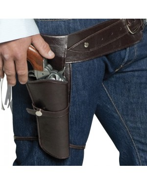 Authentic Western Gun Holster at Fancy Dress and Party