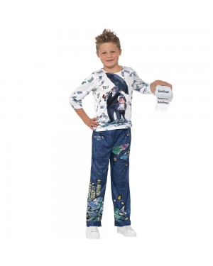 Billionaire Boy Costume Front View at Fancy Dress and Party