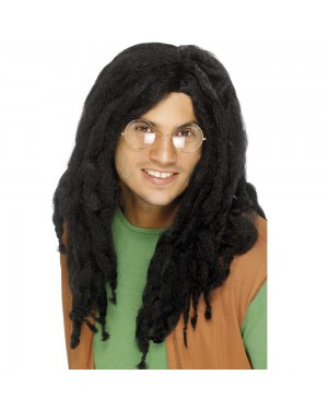 Black Dreadlocks Wig at Fancy Dress and Party