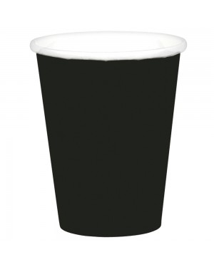 Black Paper Cups at Fancy Dress and Party