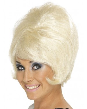 Blonde Beehive Wig at Fancy Dress and Party