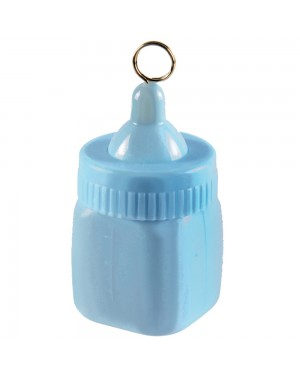 Blue Baby Bottle Balloon Weight at Fancy Dress and Party