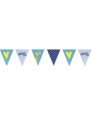 Blue Christening Banner at Fancy Dress and Party