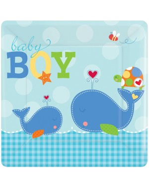 Boys Baby Shower Party Plates at Fancy Dress and Party
