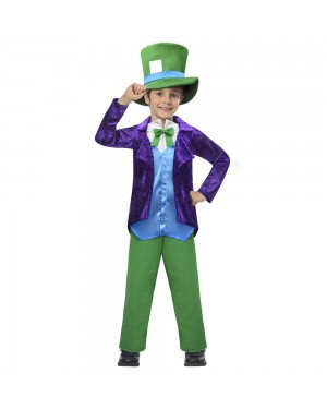 Boys Mad Hatter Costume at Fancy Dress and Party