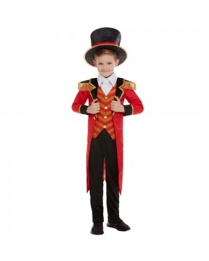 Boys Ringmaster Costume at Fancy Dress and Party