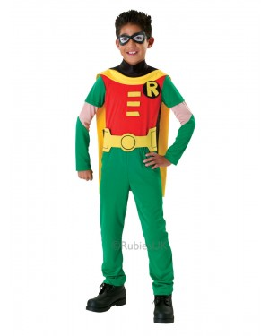 Boys Robin Costume at Fancy Dress and Party