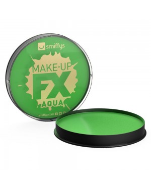 Bright Green Facepaint at Fancy Dress and Party
