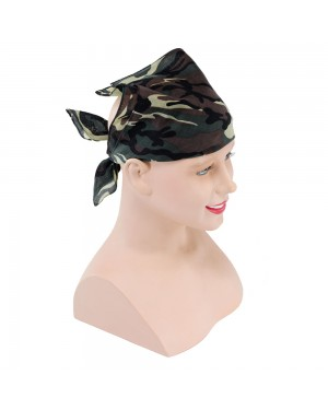 Camoflauge Bandana at Fancy Dress and Party