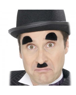 Chaplin Accessory Set at Fancy Dress and Party