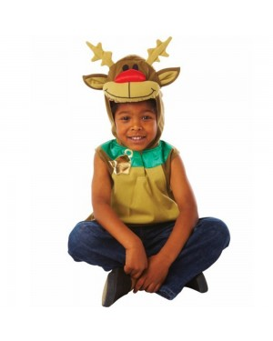 Childrens Rudolph Costume at Fancy Dress and Party