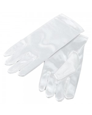 Childrens White Gloves at Fancy Dress and Party