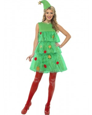 Christmas Tree Tutu Costume at Fancy Dress and Party