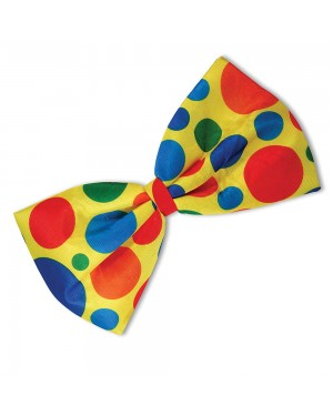 Clown Bow Tie at Fancy Dress and Party