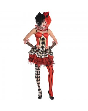 Clown Corset Top at Fancy Dress and Party