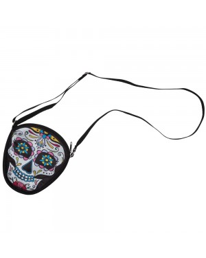 Day of the Dead Handbag at Fancy Dress and Party