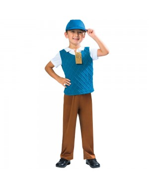 Evacuee Boy Costume at Fancy Dress and Party