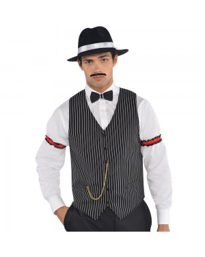 Gangster Waistcoat at Fancy Dress and Party
