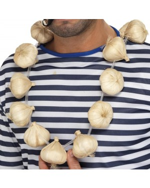 Garlic Necklace at Fancy Dress and Party