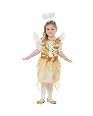 Girls Angel Costume at Fancy Dress and Party