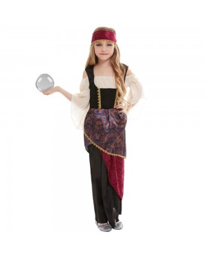 Girls Fortune Teller Costume at Fancy Dress and Party