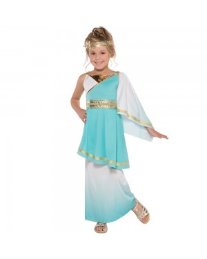 Girls Goddess Costume at Fancy Dress and Party