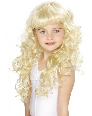 Girls Princess Wig at Fancy Dress and Party