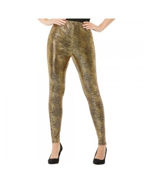 Gold 90s Leggings at Fancy Dress and Party