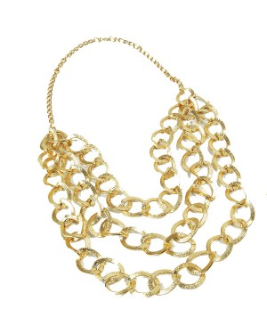 Gold Chain at Fancy Dress and Party