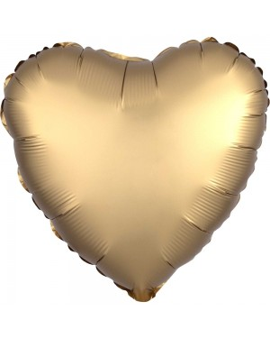 Gold Heart Balloon at Fancy Dress and Party