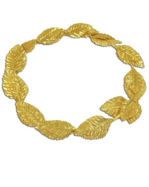 Gold Leaf Laurel at Fancy Dress and Party
