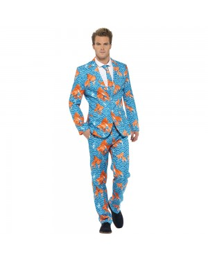 Goldfish Stand Out Suit Front View at Fancy Dress and Party
