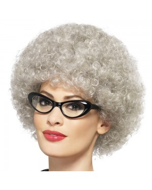 Granny Wig at Fancy Dress and Party