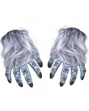 Grey Hairy Hands at Fancy Dress and Party