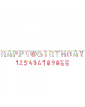 Happy Birthday Unicorn Party Banner at Fancy Dress and Party
