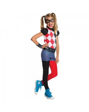 Harley Quinn Child Costume at Fancy Dress and Party