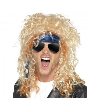 Heavy Metal Rocker Instant Kit Mens View at Fancy Dress and Party