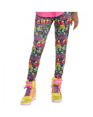 Hip Hop 90s Leggings at Fancy Dress and Party