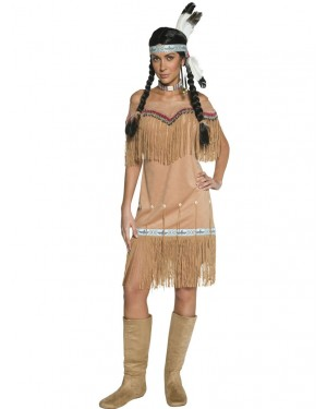 Indian Lady Costume Front at Fancy Dress and Party