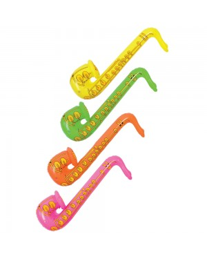 Inflatable Saxaphone at Fancy Dress and Party
