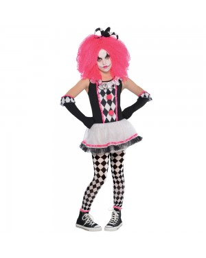 Kids Clown Costume at Fancy Dress and Party