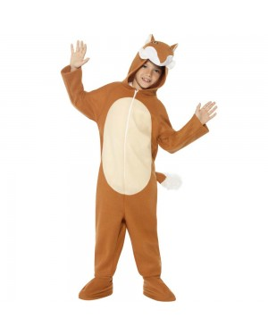 Kids Fox Costume Front View at Fancy Dress and Party