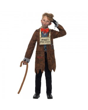 Kids Mr Stink Costume Front View at Fancy Dress and Party