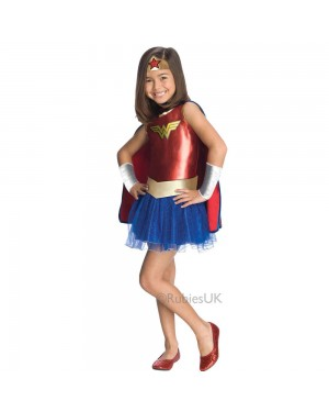 Kids Wonder Woman Costume at Fancy Dress and Party