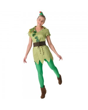 Ladies Peter Pan Costume at Fancy Dress and Party
