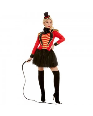 Ladies Ringmaster Costume at Fancy Dress and Party