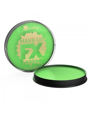 Lime Green Facepaint at Fancy Dress and Party