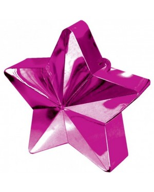 Magenta Pink Star Balloon Weight at Fancy Dress and Party
